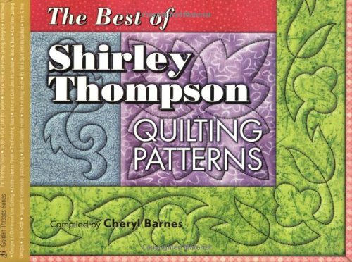 Best of Shirley Thompson: Quilting Patterns (Golden: Shirley Thompson