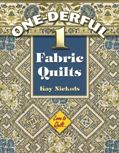 9781574329360: Wonderful 1-fabric Quilts