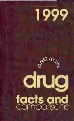 9781574390445: Drug Facts and Comparisons, Pocket Version