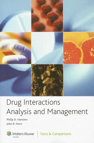 9781574392609: Drug Interactions Analysis and Management 2006