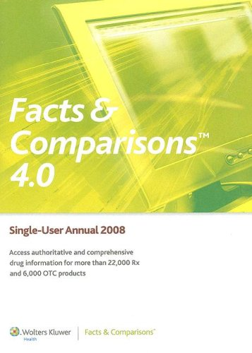 9781574392814: Facts & Comparisons 4.0 Annual CD-ROM 2008 (Drug Facts & Comparisons (CD-ROM))