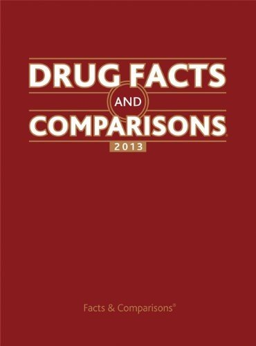 9781574393385: Drug Facts and Comparisons 2013 (Drug Facts & Comparisons)