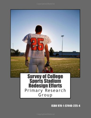 9781574402254: Survey of College Sports Stadium Redesign Efforts