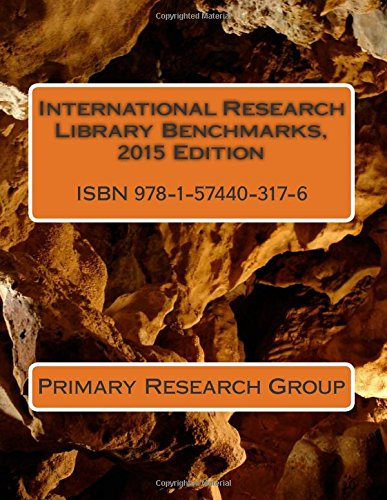 International Research Library Benchmarks, 2015 Edition: Primary Research Group