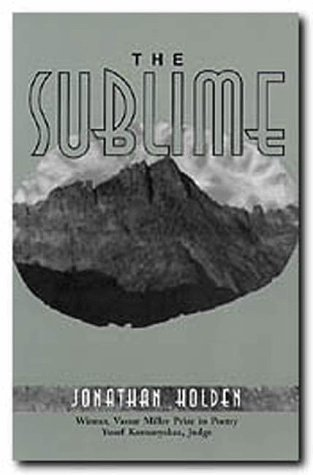 9781574410204: The Sublime (Vassar Miller Prize in Poetry)