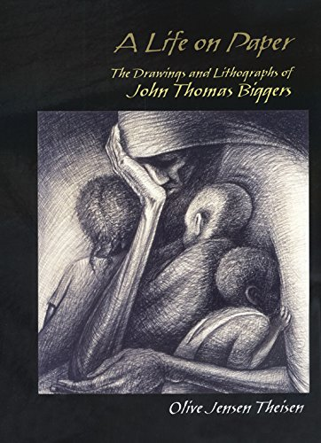 9781574412208: A Life on Paper: The Drawings and Lithographs of John Thomas Biggers