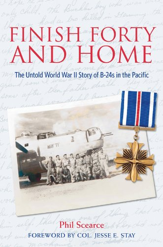9781574413168: Finish Forty and Home: The Untold World War II Story of B-24s in the Pacific (Mayborn Literary Nonfiction Series)