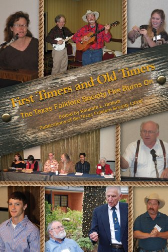 9781574414714: First Timers and Old Timers (Publications of the Texas Folklore Society)