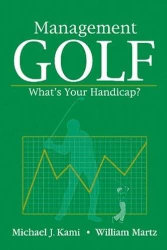 9781574441055: Management Golf: What's Your Handicap?