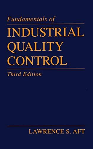 9781574441512: Fundamentals of Industrial Quality Control, Third Edition