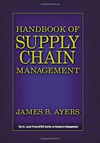 9781574442731: Handbook of Supply Chain Management