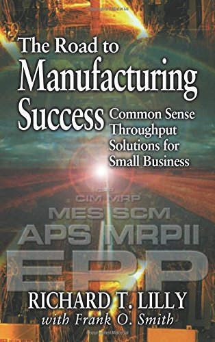 9781574442991: The Road to Manufacturing Success: Common Sense Throughput Solutions for Small Business