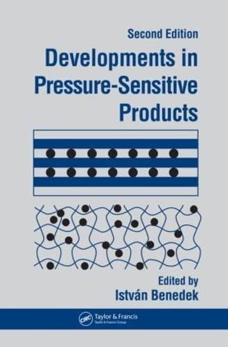 Developments in Pressure-Sensitive Products (Hardback)