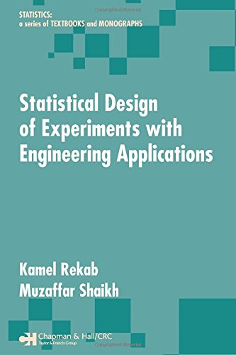 9781574446258: Statistical Design of Experiments with Engineering Applications (Statistics: A Series of Textbooks and Monographs)