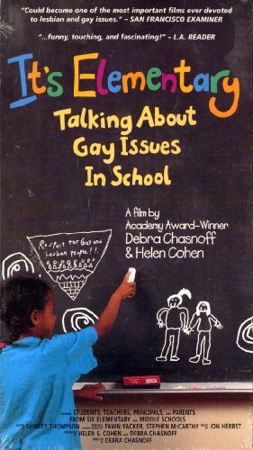 9781574480580: It's Elementary: Talking about Gay Issues in School [VHS]