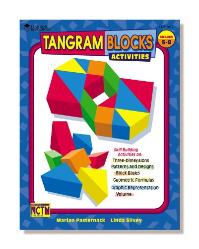 9781574522501: Tangram Blocks Activities Gr 5-10