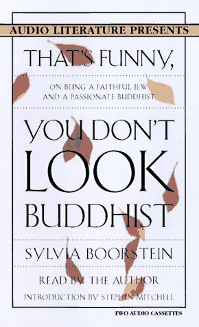 9781574531510: That's Funny, You Don't Look Buddhist: On Being a Faithful Jew and a Passionate Buddhist (Audio Literature Presents)