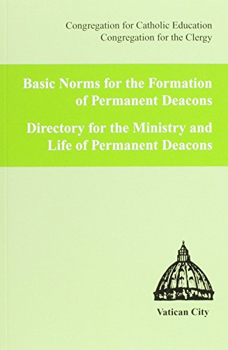 Basic Norms for Form. of Perm. Deacons: Catholic Education, Congregation