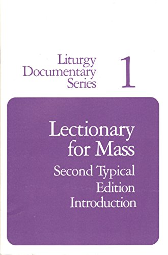 Lectionary for Mass: Second Typical Edition, Introduction: United States Catholic Conference