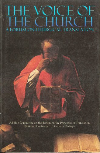 The Voice Of The Church: A Forum: Ostdiek, Gilbert, Driscoll