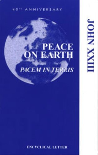 9781574556025: Peace on Earth (Pacem in Terris)