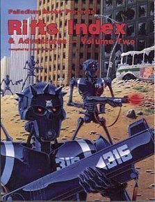 9781574570083: RIFTS Index and Adventures: v. 2