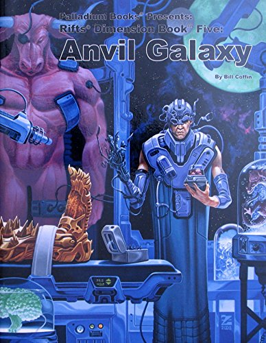 Rifts Dimension Book Five : Anvil Galaxy: Coffin, Bill