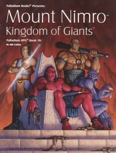 9781574570281: Mount Nimro: Kingdom of Giants- Palladium RPG Sourcebook, Book 10