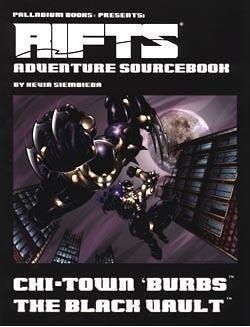 9781574570861: Rifts Adventure Sourcebook 3: Chi-Town 'Burbs: The Black Vault