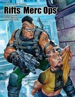 9781574571097: Rifts Merc Ops