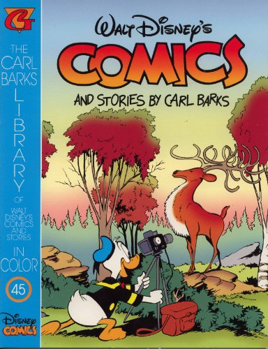 9781574600148: The Carl Barks Library Number 45, Walt Disney's Comics