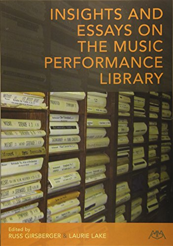 9781574631760: Insights and Essays on the Music Performance Library