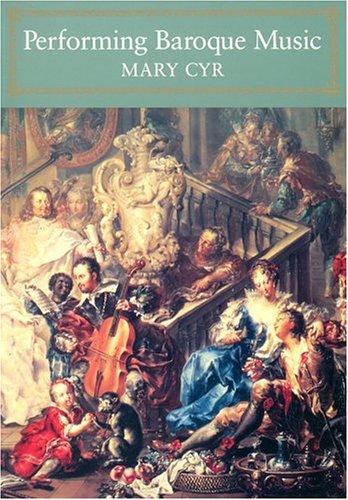 9781574670431: Performing Baroque Music