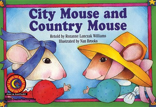 9781574710731: City Mouse and Country Mouse (Learn to Read-Read to Learn: Fun and Fantasy)