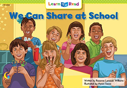 9781574711257: We Can Share at School Learn to Read, Social Studies (Social Studies Learn to Read)