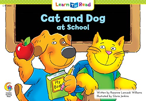9781574711394: Cat and Dog at School Learn to Read, Social Studies