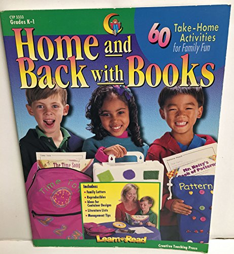 9781574711608: Home And Back With Books : 60 Take-Home Activities for Family Fun Grades K-1