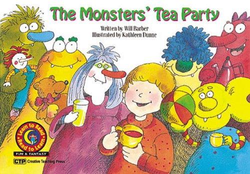 The Monster's Tea Party: Barber, Will/ Dunne,