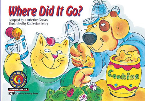 9781574713145: Where Did It Go? Learn to Read, Science (Science Learn to Read, Read to Learn)