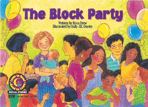 9781574713336: The Block Party Learn to Read, Social Studies