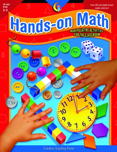 9781574714241: Hands-On Math: Manipulative Activities for the 2-3 Classroom