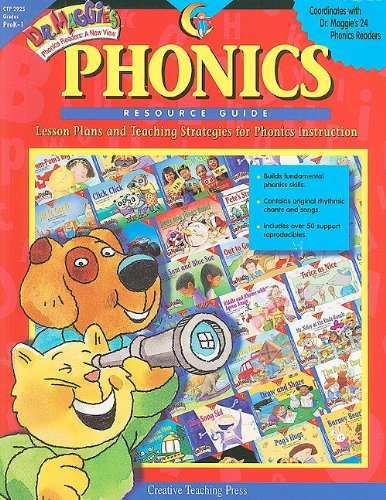 9781574715309: Dr Maggies Phonics Resource Guide (Dr. Maggie's Phonics Readers: A New View (Paperback))