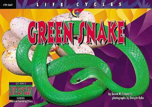 9781574715576: Green Snake (Life Cycles)
