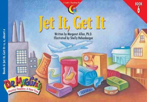 9781574715668: Jet It, Get It (Dr. Maggie's Phonics Readers Series: a New View)