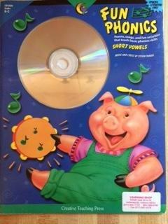 9781574716405: Fun Phonics Short Vowels Book and CD Set
