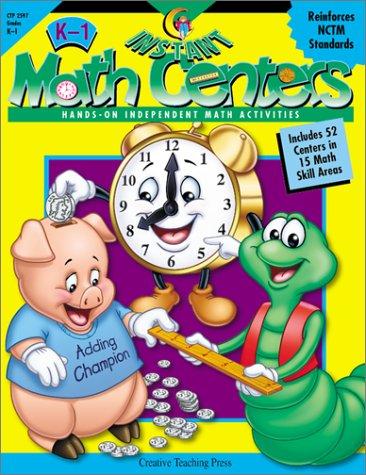 Instant Math Centers: Hands-On, Independent Math Activities: Karen Bauer, Janet