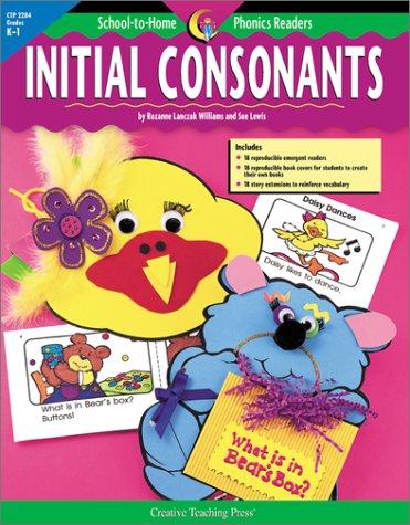 School to Home Phonics Initial Consonants (School-To-Home: Williams, Rozanne Lanczak