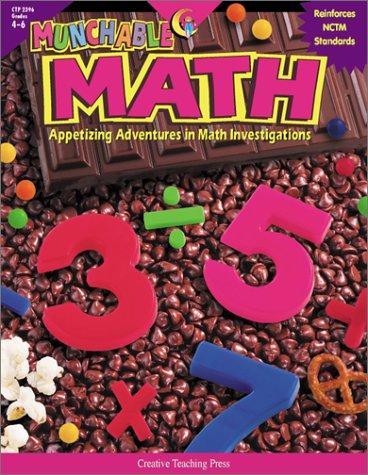 Munchable Math : Appetizing Adventures in Math: Lisa Crooks