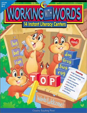 9781574717686: Working With Words: 14 Instant Literacy Centers : Grades K-1