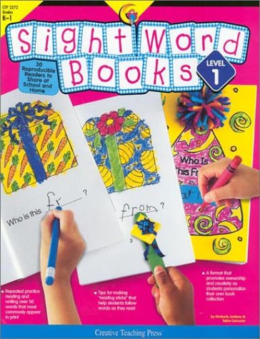 9781574717938: Sight Word Books LEVEL 1 : 30 Reproducible Readers to Share at School and Home